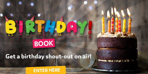 Birthday book - generic